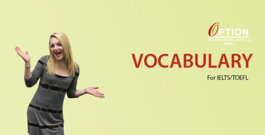Vocabulary IELTS/TOEFL
