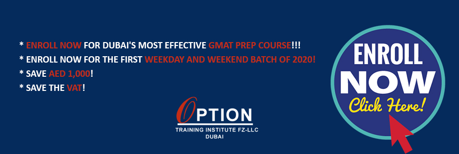 Enroll Now - GMAT Prep Batches